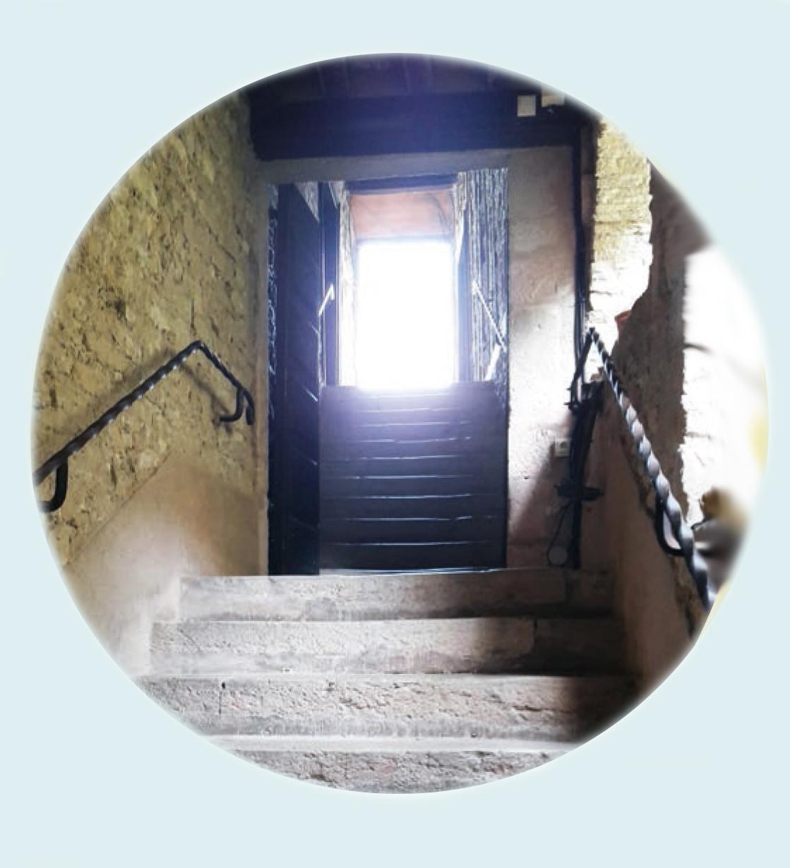 Licht an Treppe